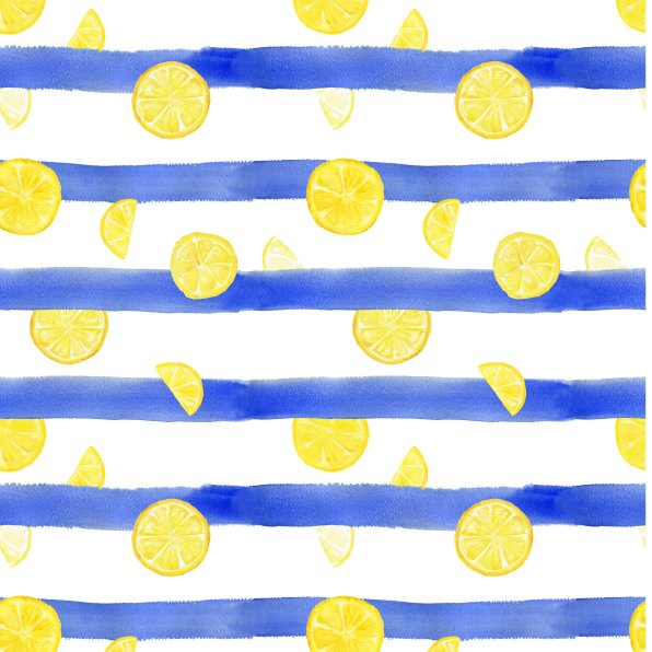 Estampado limones prueba 1